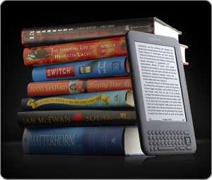 Avec l'explosion du numérique, le poids relatif du papier serait passé de 33 % en 1986 à 0,007 % en 2007. Ci-dessus, le Kindle 3 d'Amazon. © Amazon