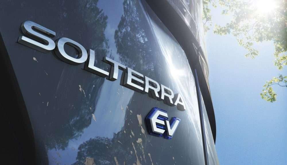 Le Subaru Solterra est conçu sur la plateforme e-Subaru Global codéveloppée avec Toyota. © Subaru