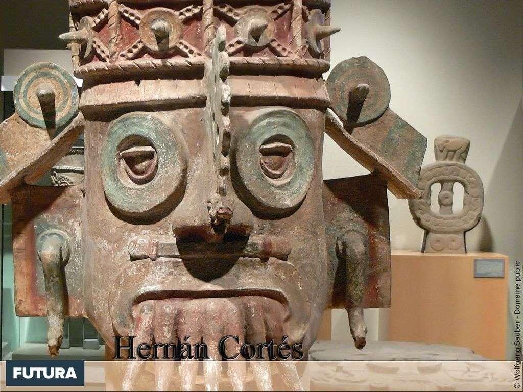 Hernán Cortés découverte l'empire Aztèque