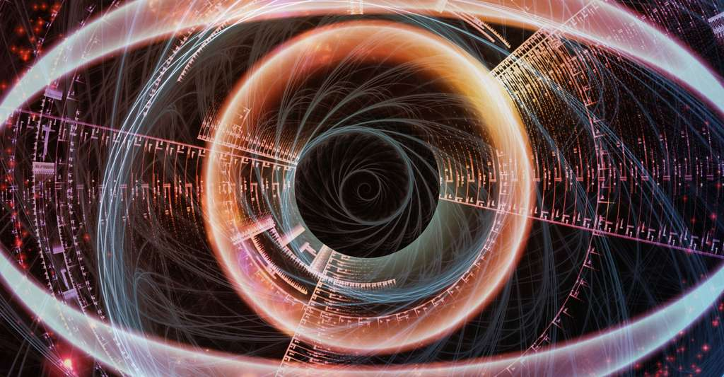 Qu'est-ce que la vie artificielle ? Ici, effet d'un œil numérique. © 216952159, Shutterstock