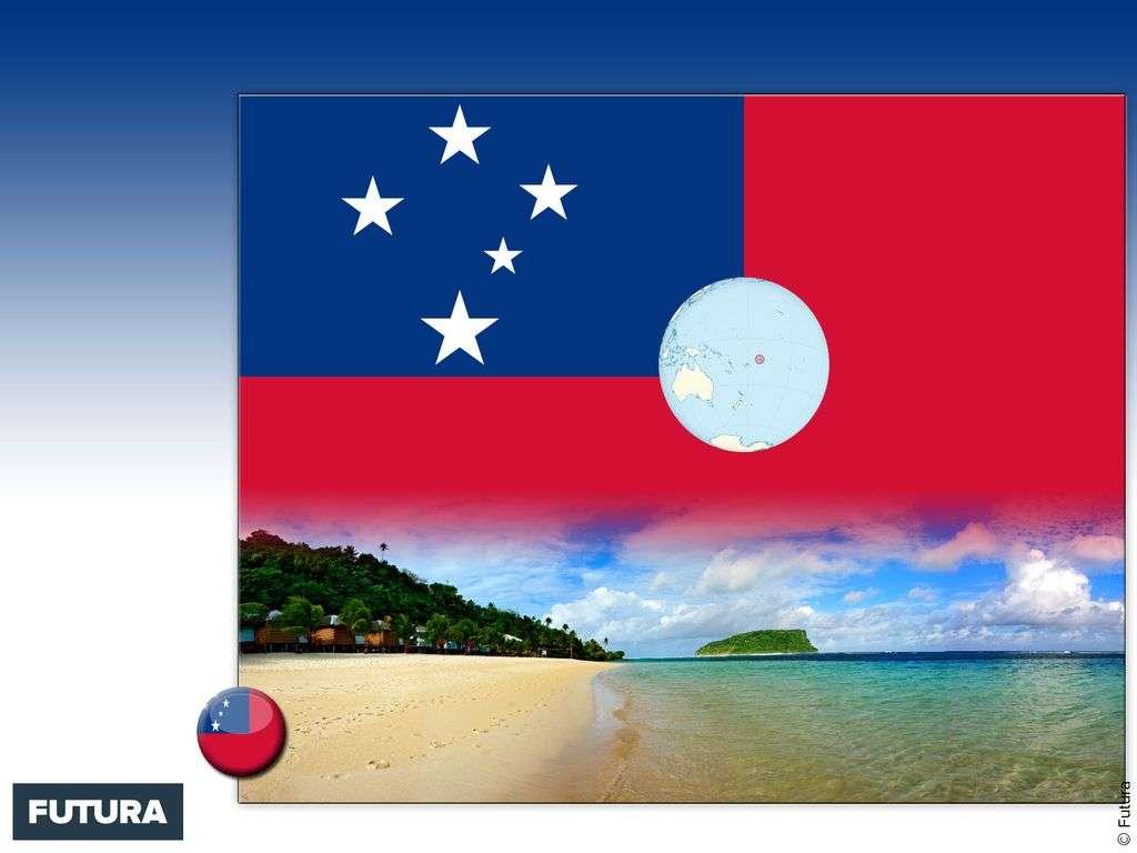 Drapeau : Samoa