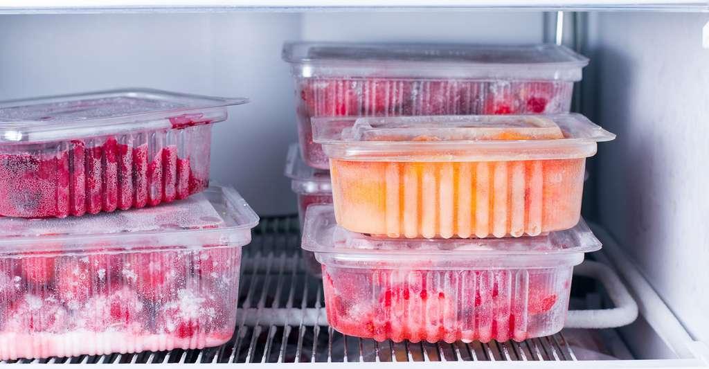 Les intégrateurs temps température renseignent sur les conditions de conservation des aliments frais et permettent ainsi d'assurer la traçabilité de la chaîne du froid. © qwartm, Fotolia