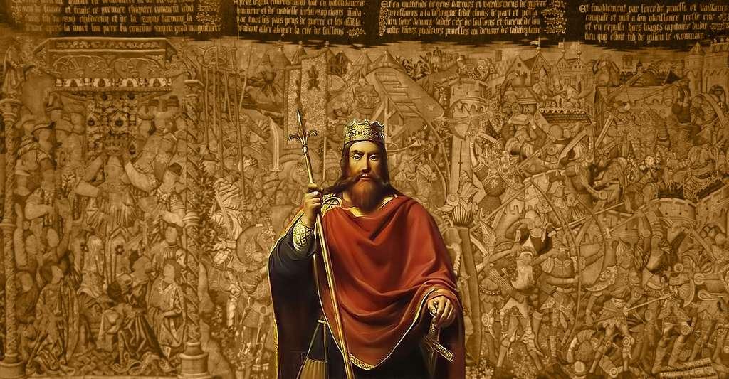Clovis 1er roi des Francs (465-511). © François-Louis Dejuinne, Wikimedia commons, DP