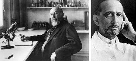 Claudius Regaud (1870-1940) ©ACJC Gustave Roussy (1874-1948) © IGR