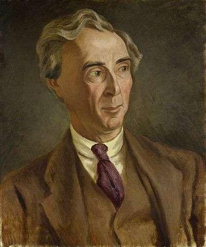 Portrait de Bertrand Russel par Roger Fry 1923. © NPG.org, wikimedia commons, DP