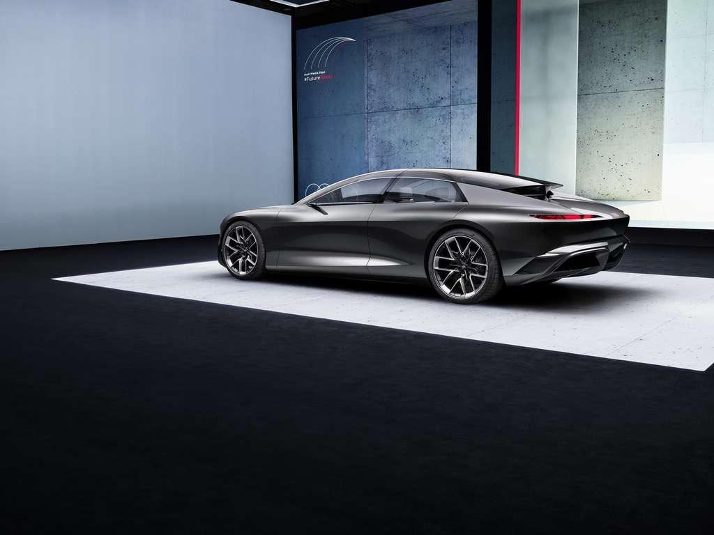 Le concept Audi grandsphere. © Audi