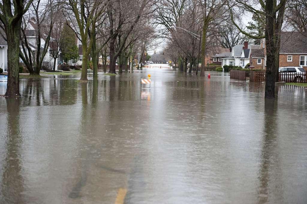 Le risque d'inondation sera particulièrement important dans une grande partie des États-Unis, des régions d'Afrique, d'Inde, d'Indonésie et d'Europe centrale. © EugeneF, Fotolia
