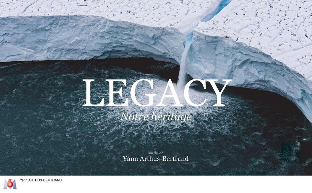 Fonte des glaces, affiche de « Legacy ». © Yann Arthus-Bertrand, tous droits réservés