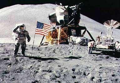 Le 20 juillet 1969, l'Homme a marché sur la Lune. © Nasa