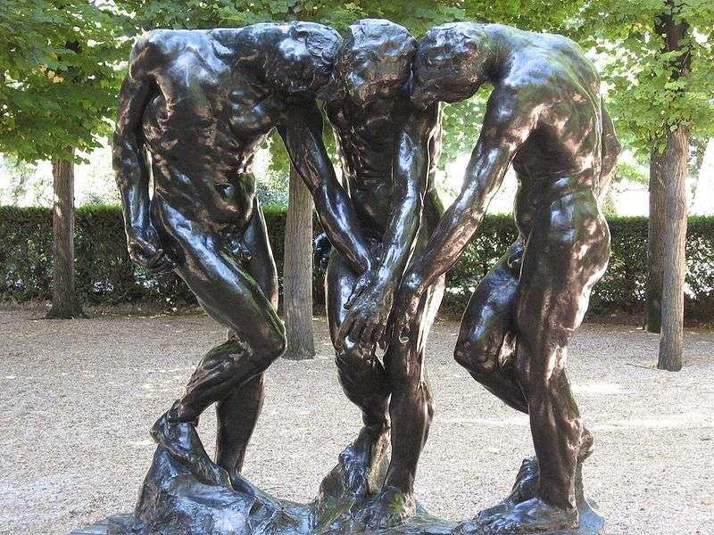 Le corps nu dans son expression la plus pure sera, tout au long de sa carrière, l'objet d'étude quasi exclusif d'Auguste Rodin. Un art réaliste désormais au service de la médecine. © Mona Mia, Wikimedia Commons, cc by sa 2.0