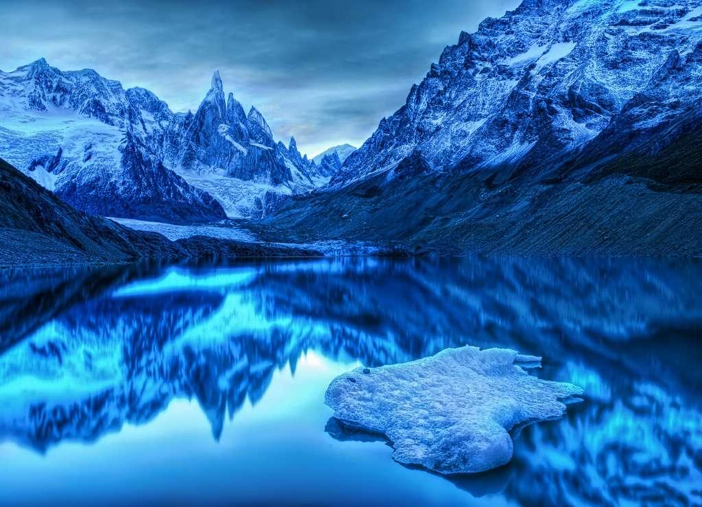 La lagune Torre, au cœur des glaces argentines