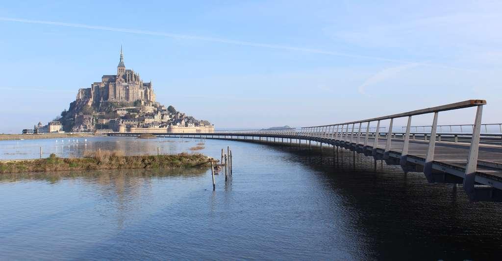 Le Mont-Saint-Michel et sa nouvelle jetée