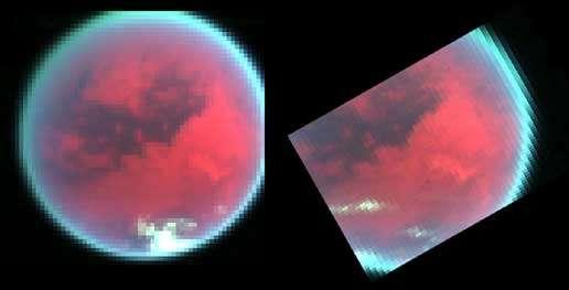 Temps changeant sur Titan