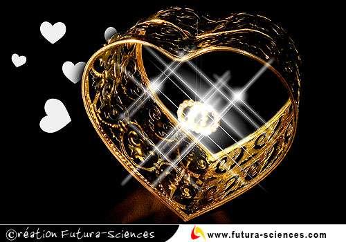 Un coeur en or