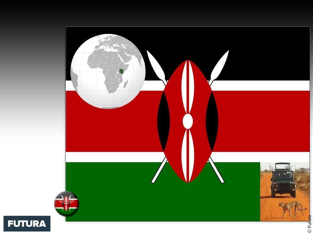 Drapeau : Kenya