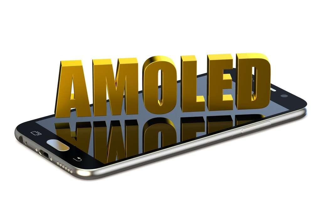 Supérieur au LCD sur de nombreux points, l'écran Amoled est handicapé par un coût de production encore trop élevé et une durée de vie plus courte. © AlexLMX, Shutterstock