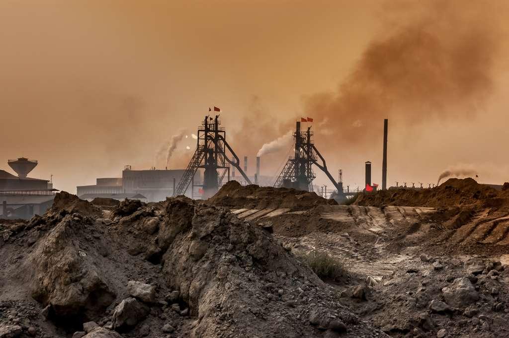 La mine de Baotou, en Chine (Mongolie intérieure). C'est le plus grand site du pays pour l'extraction des terres rares. © ebenart, Shutterstock