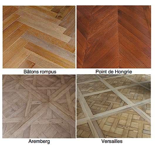 Le parquet cloué permet de réaliser des motifs complexes. © Atelier des Granges