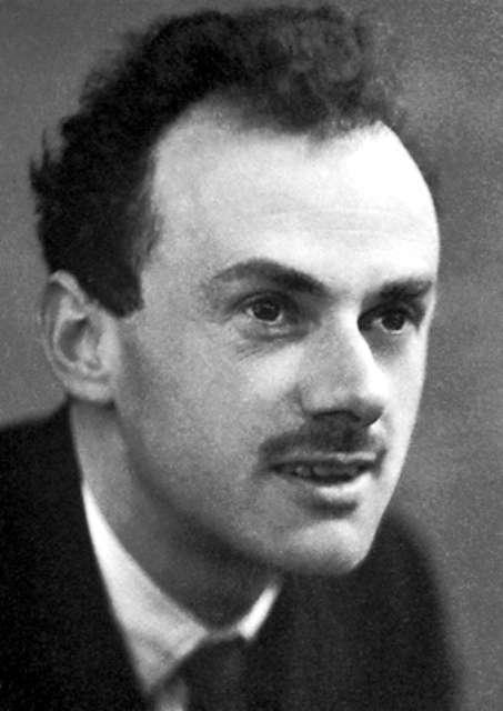 Le physicien Paul Dirac, le découvreur de l'antimatière. © The Nobel Foundation
