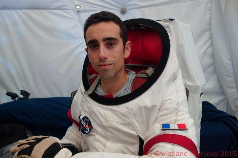 Selon Cyprien Verseux, « une mission habitable sur Mars est réaliste dans un futur proche ». © Christiane Heinicke, HI-SEAS