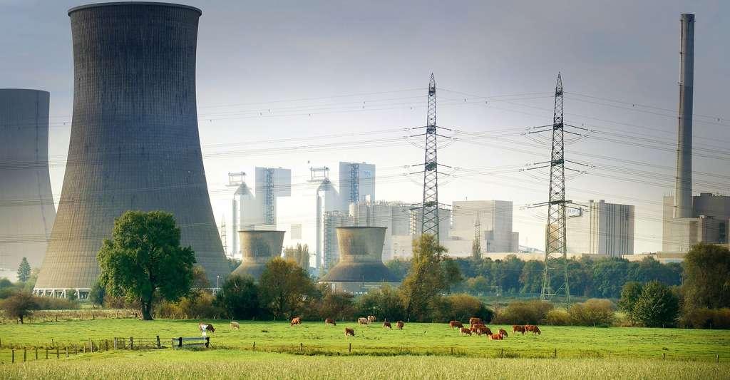 Centrale nucléaire. © Fietzfotos, Pixabay, DP