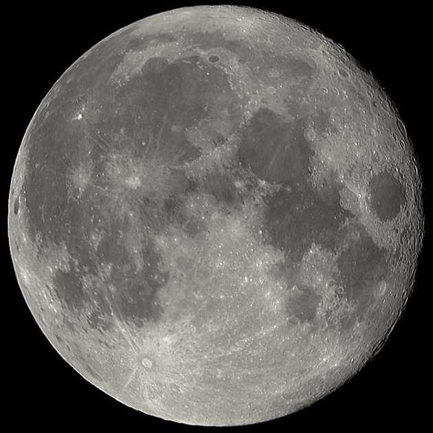 Mosaïque de la Lune