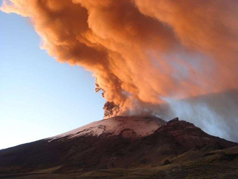 Les éruptions volcaniques font partie des forçages naturels. © Arareko, by nc sa 30