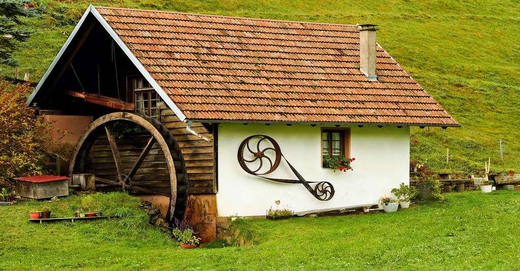 Le charme d'une maison écologique. © Couleur, Pixabay, DP