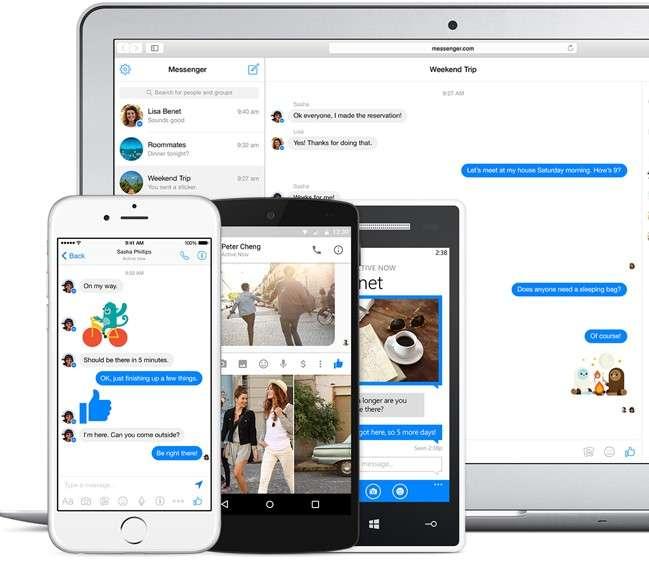 Facebook Messenger est l'une des premières applications sur laquelle Facebook fait travailler DeepText. L'IA est déjà capable de savoir si une personne a besoin de se déplacer en resituant le mot « taxi » dans son contexte. © Facebook