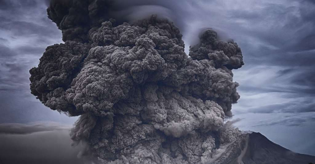 Panache de cendres éruptives. © Pexels, DP
