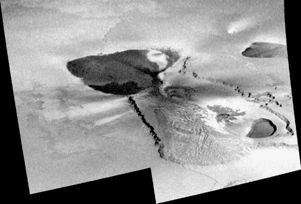 La région volcanique de Tvashtar