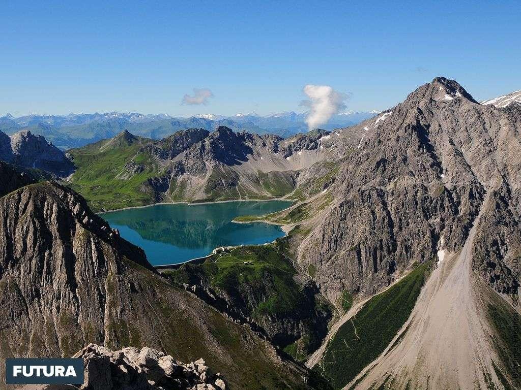 Le lac de Lün - Autriche