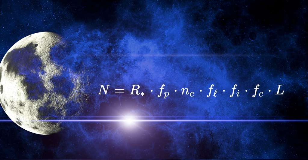 Equation de Drake. © Geralt CCO