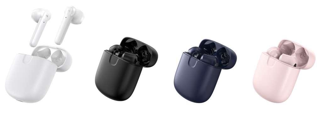 Les écouteurs se déclinent désormais dans de nombreuses formes et couleurs. © UGREEN