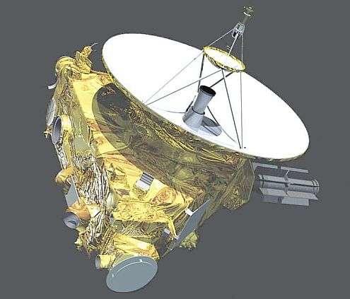 Vue d'ensemble de la sonde New Horizons.© Nasa