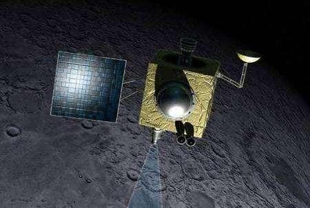 La sonde lunaire indienne Chandrayaan-1. Crédit ISRO
