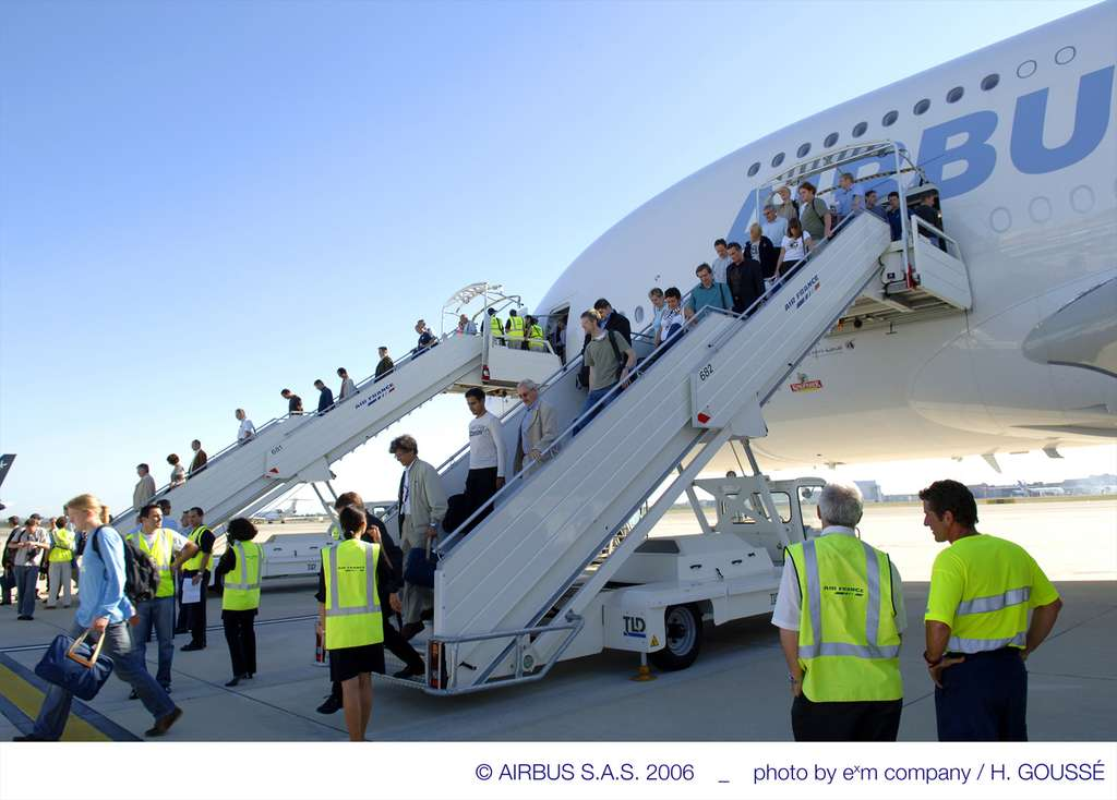 A380 : premier vol avec passagers