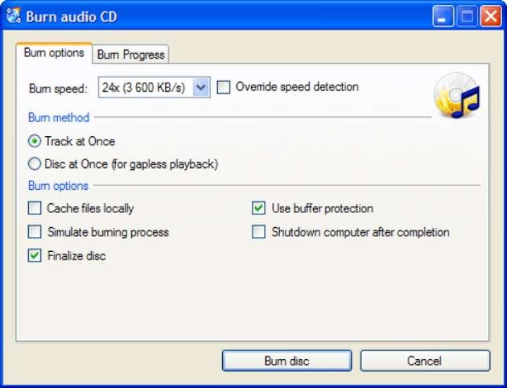 CDBurnerXP est un logiciel complet et entièrement gratuit. © Impressum