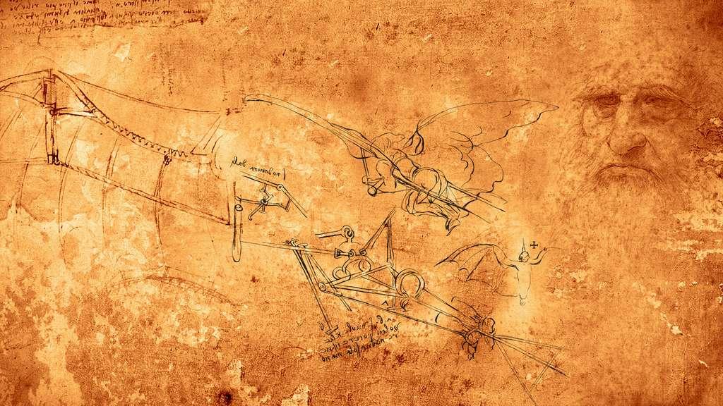 L'ornithoptère de Léonard de Vinci