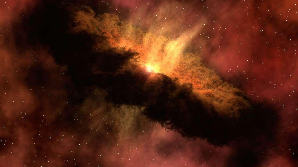 La protoétoile IRAS 4B dans la nébuleuse NGC 1333