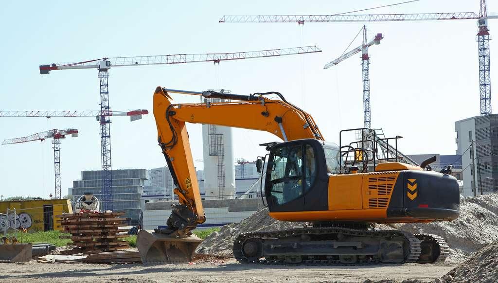 WATTALPS conçoit des batteries modulables avec une haute autonomie pour les engins de chantier et de construction. © hcast, Fotolia