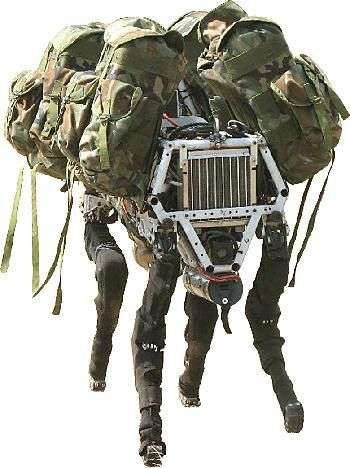 Le robot-chien de l'armée