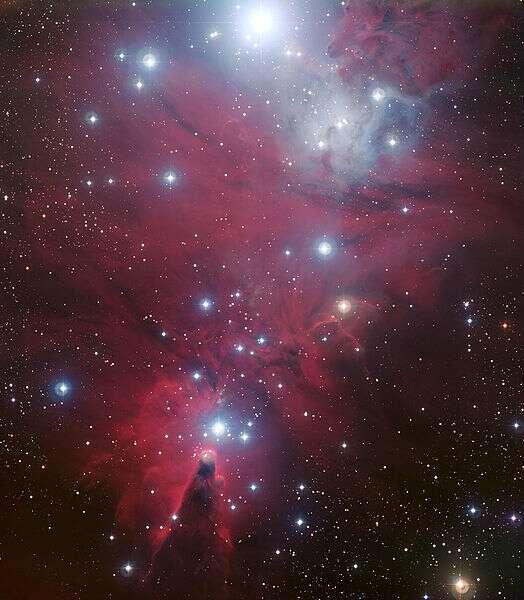 Un cliché du télescope Plank. © ESO, Creative Common Attibution 3.0 Unported