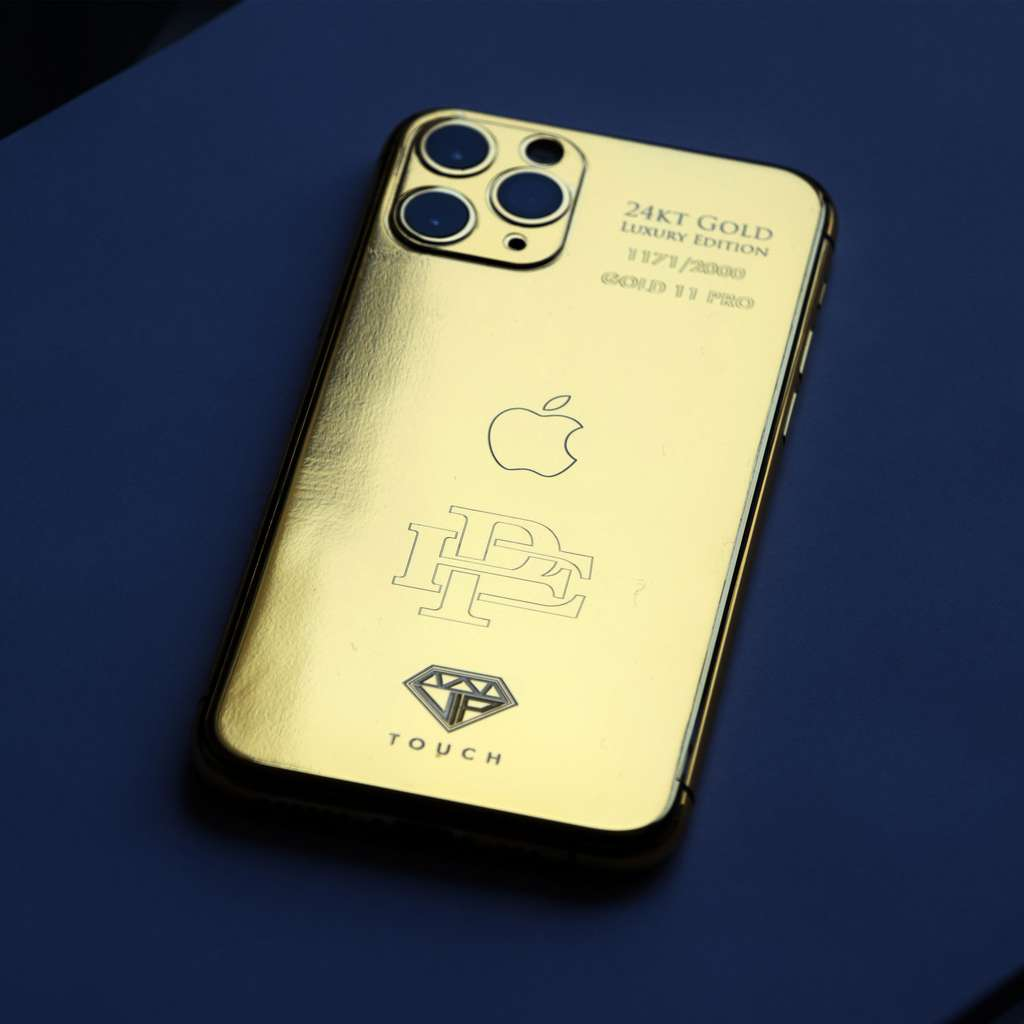 Cet iPhone planqué or est vendu sur le site officiel du frère de Pablo Escobar © Escobar Inc