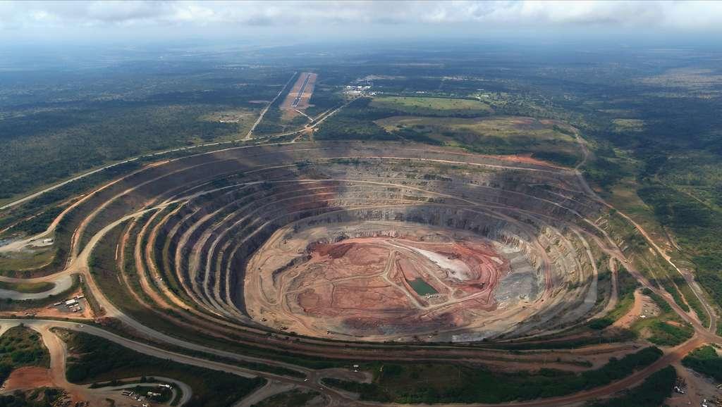 La mine de Catoca en Angola. © Gsmart-ao