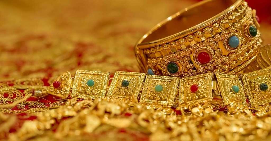 L'or, un métal fascinant. © Nawalescape, Pixabay, DP