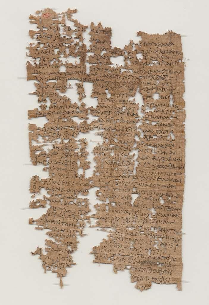Le papyrus est bien abîmé, mais une grande partie a pu être déchiffrée. On connaît donc les tourments qui frappaient Aurelius Polion à l'époque, s'inquiétant et s'énervant de ne pas avoir de nouvelles de ses proches. Oubli de leur part ? Censure ? On ignore les raisons de ce silence. © Université de Californie, Berkley's Bancroft Library