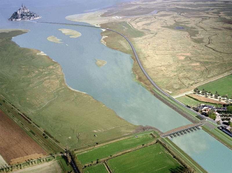 Image virtuelle du barrage du Couesnon