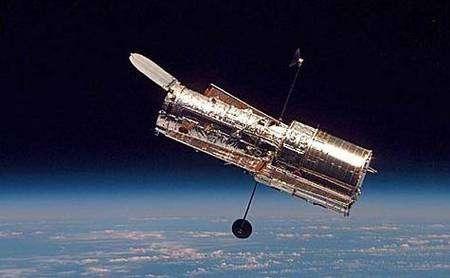 Le télescope spatial Hubble. Crédit Nasa