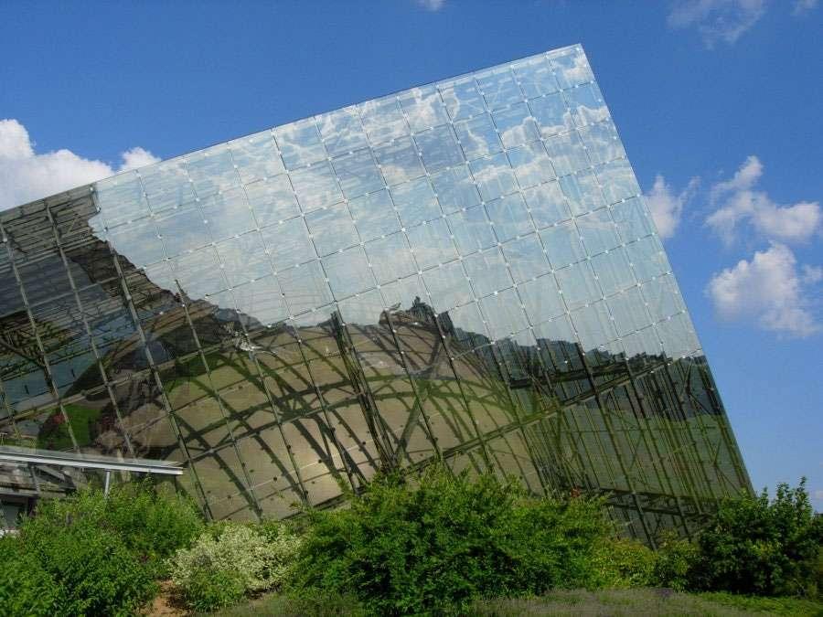 L'Omnimax, bâtiment du Futuroscope de Poitiers